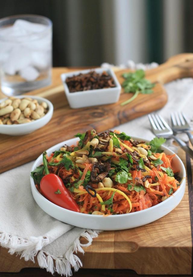 Burmese Carrot Salad 2