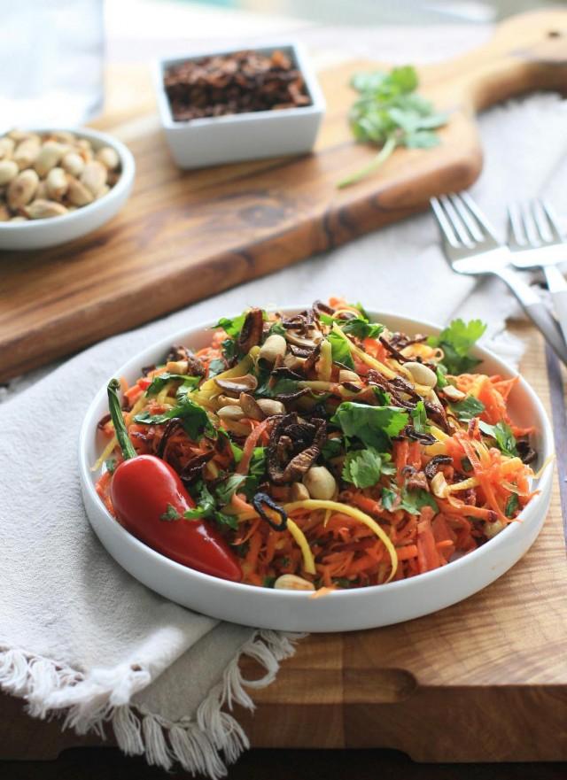 Burmese Carrot Salad copy