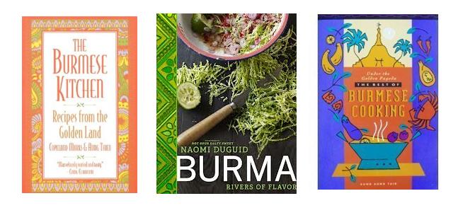 Burmese Cookbooks