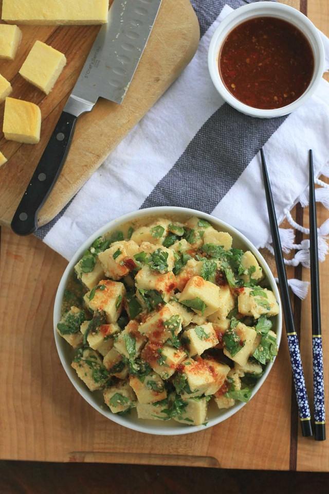Burmese Tofu Salad 3