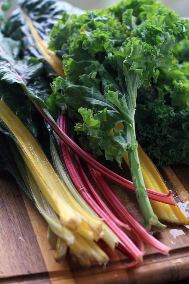 Chard and Kale