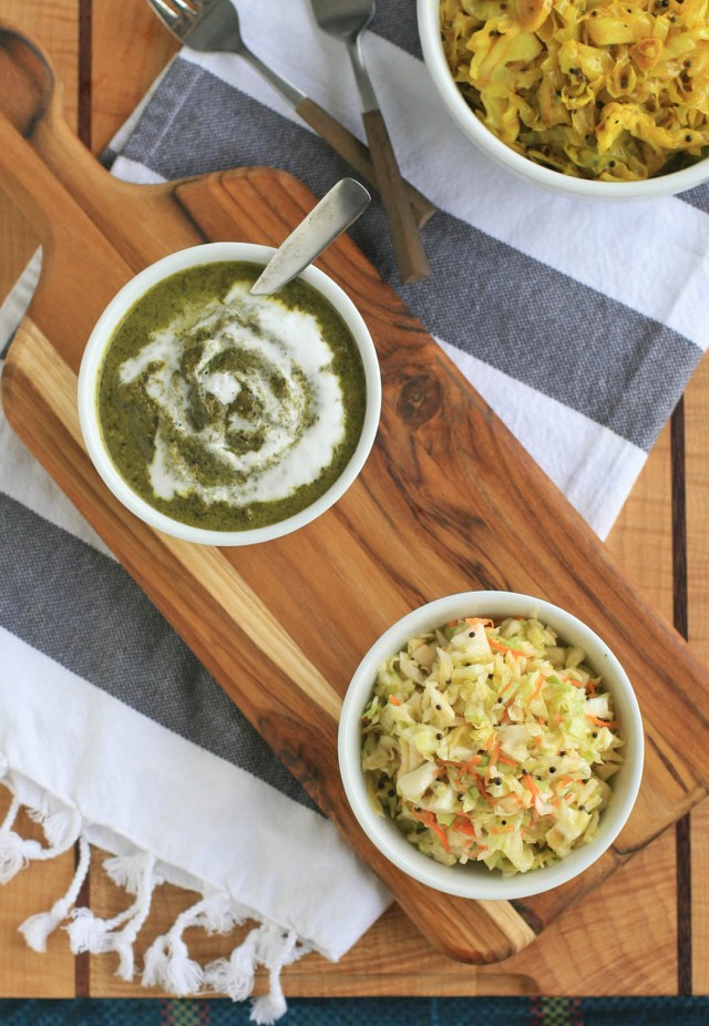 Indian Creamed Chard and Kale 1