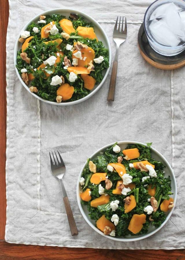 Massaged Kale Salad with Mango 1