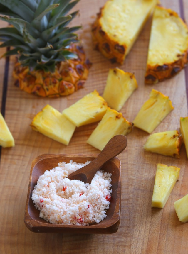 Pineapple with Chile Salt 2