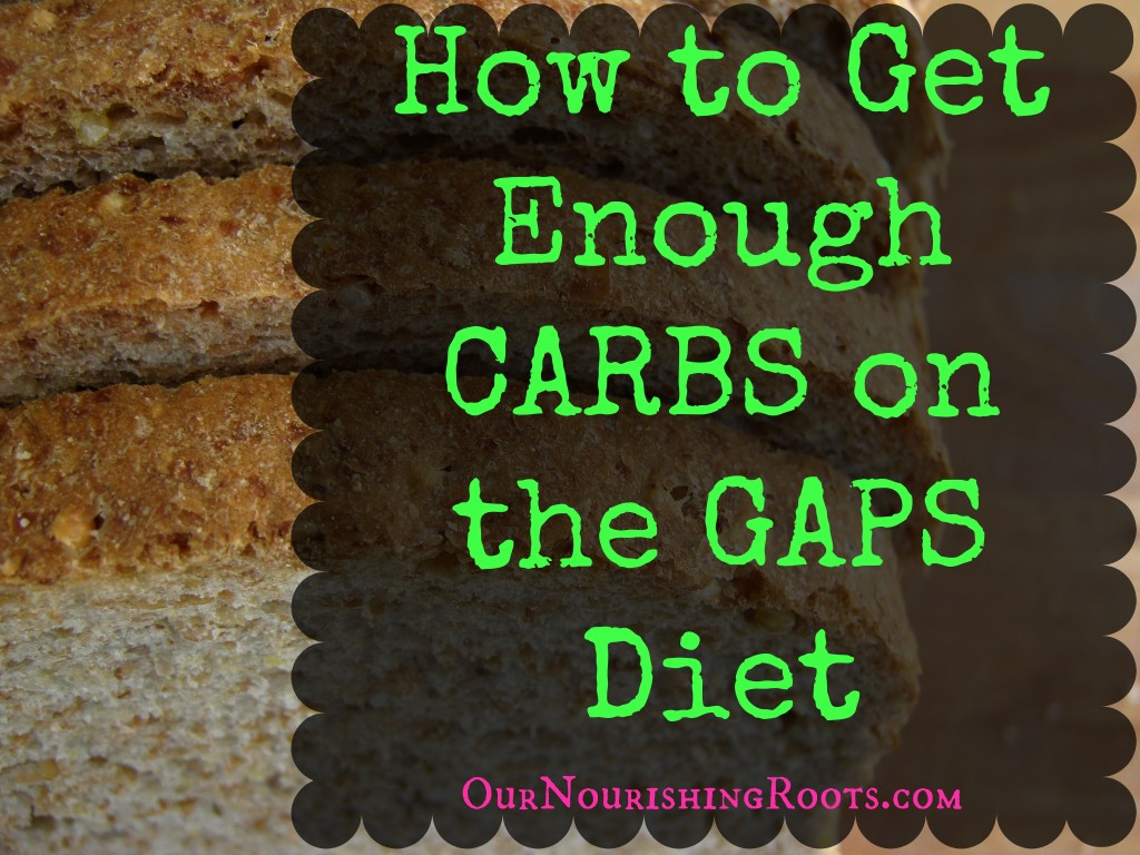 carbs on GAPS