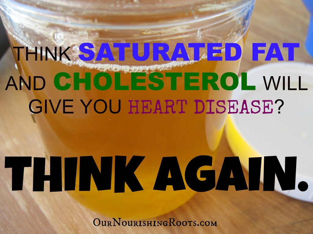 saturated fat and cholesterol heart disease think again