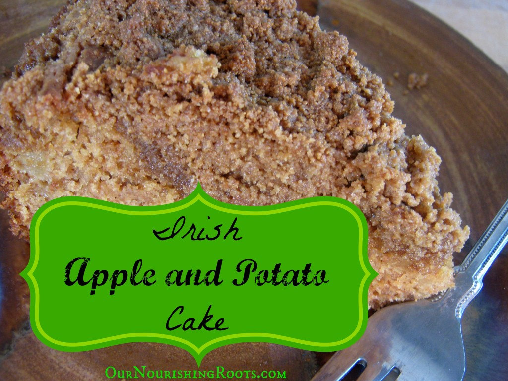irish apple and potato cake