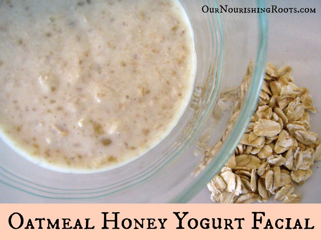 oatmeal honey yogurt facial acne