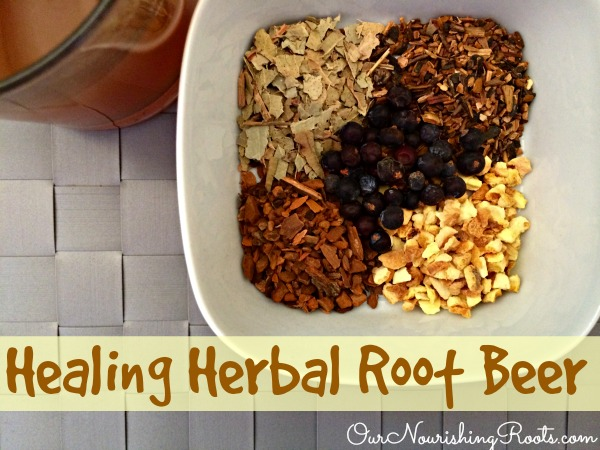 Healing Herbal Root Beer | OUR NOURISHING ROOTS